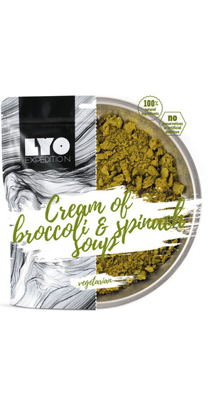 Lyofood Cream of Broccoli and Spinach Soup 37g